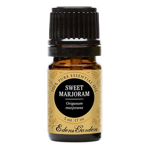 Sweet Marjoram 100% Pure Therapeutic Grade Essential Oil by Edens Garden- 5 ml