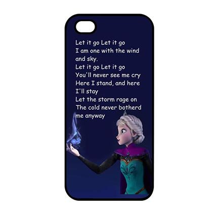 Cartoon Pattern Fresh Frozen Phone Case for iPod Touch 5th Generation (Frozen Ipod Cases 5th Generation)