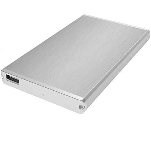 SABRENT 2.5-Inch SATA Aluminum Hard Drive to USB 2.0 Enclosure (EC-US25)