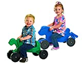 Angeles 2-Pc Ride-On Tortoise and Hare Set