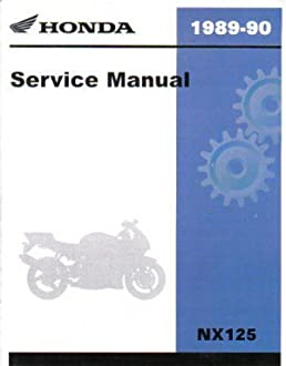 61ky702 1988 1990 honda nx125 motorcycle repair workshop service rh amazon com
