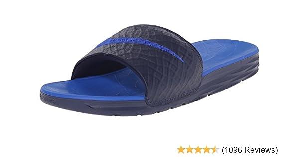 2936e735b4cfff NIKE Men s Benassi Solarsoft Slide Sandal