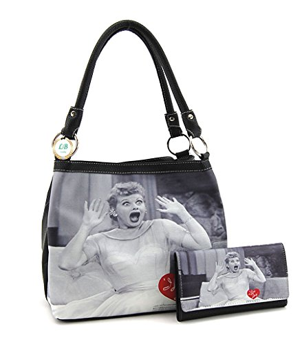 I love Lucy Medium Purse and Wallet Set, Two Way Bag for sale  Delivered anywhere in USA