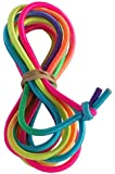 Chinese Jump Rope for Kids - 8ft - Adjustable - Indoor Outdoor Elastic Fitness Game - Knotted End - by B&D Supply