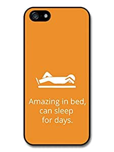New Funny Amazing in Bed Quote on Lazy Orange Design Case For Sony Xperia Z2 D6502 D6503 D6543 L50t L50u Cover