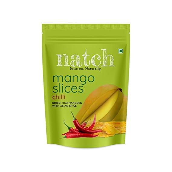Natch Dried Thai Mango Slices (Chilli), 150 g