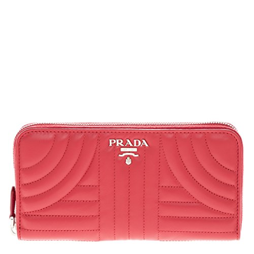 Prada Red Leather - Prada Women's Leather Wallet Red