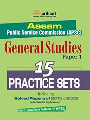 buy assam public service commission apsc general studies paper 1 rh amazon in Civil Services Preliminary Exam 2013 Preliminary Hearing Exam