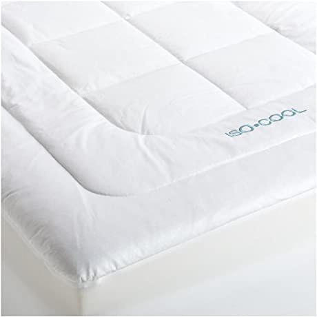 SleepBetter Iso Cool Memory Foam Mattress Topper With Outlast Cover Queen