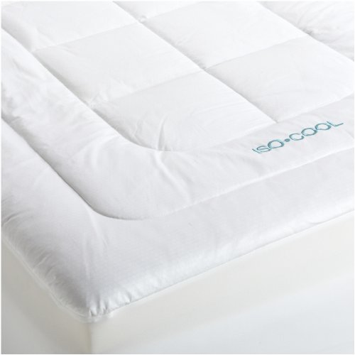 Sleep Cool Mattress Pad (SleepBetter Iso-Cool Memory Foam Mattress Topper with Outlast Cover, Queen)