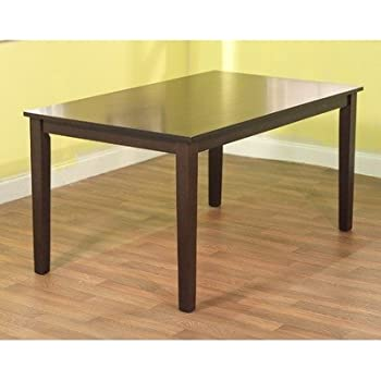 Amazon Com Havana Carson Large Dining Table Color