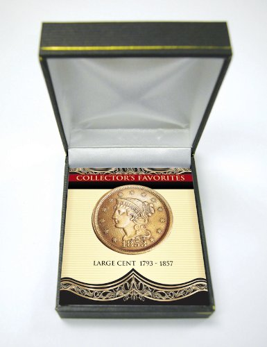 (American Coin Treasures Collector's Favorites Large Cent 1793-1857 Coin )