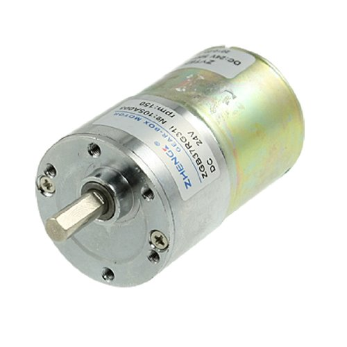 Dc 24v 150rpm high torque electric speed reducing gear box for 24v dc motor high torque