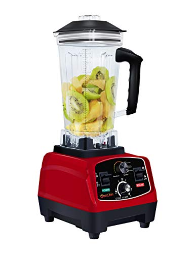 WantJoin Professional Blender Countertop Blender for kitchen,2200W Blender with Rubber Pitcher for ice smoothie,salsa…