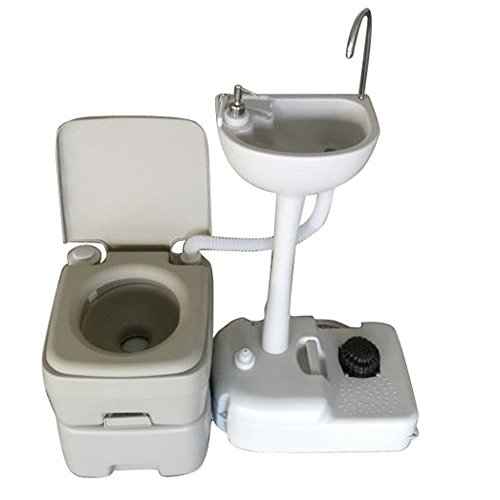 - Limited Supply High Cost Wash Basin Sink Portable Toilet Flush Wastewater Recycled