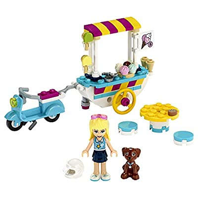 LEGO Friends Ice Cream Cart 41389 Building Kit, Featuring LEGO Friends Stephanie Mini-Doll, New 2020 (97 Pieces): Toys & Games