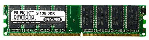 1GB RAM Memory for DFI K, L Motherboard Series LANPARTY NF3 Ultra-D (DDR-333) 184pin PC2700 DDR DIMM 333MHz Black Diamond Memory Module Upgrade