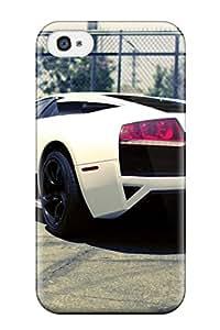 Evelyn C. Wingfield's Shop Lamborghini Durable Iphone 4/4s Tpu Flexible Soft Case 6987561K25122634