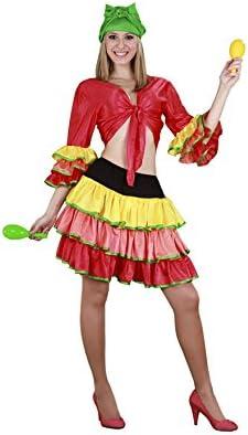 Disfraz Rumbera Mujer (Talla Unica): Amazon.es: Juguetes y juegos