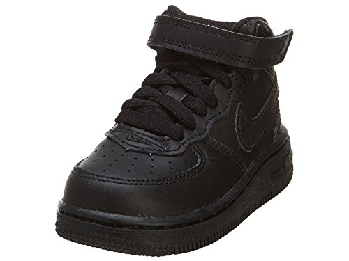 Nike Force 1 Mid (TD) 314197-004 Infant's Toddler's Casual Fashion Shoes by NIKE
