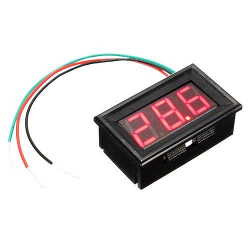 Digital Mini 5-25V LED Car Truck Voltmeter Gauge Voltage Panel