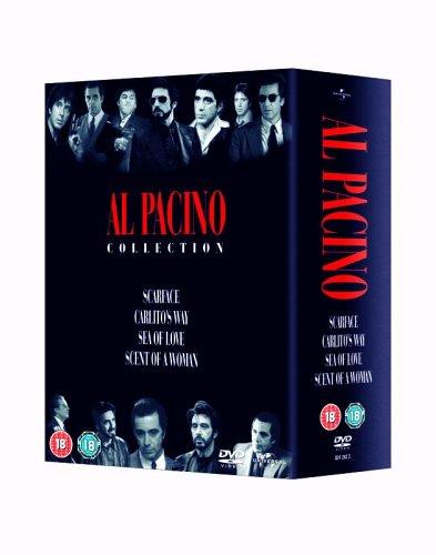 Al Pacino Box Set - Scarface / Carlitos Way / Sea Of Love / Scent Of A Woman [DVD] (Carlitos Way Dvd)