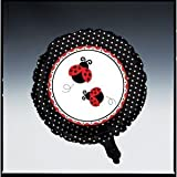 Creative Converting Ladybug Fancy Two Sided Mylar Foil Round Balloon, Health Care Stuffs
