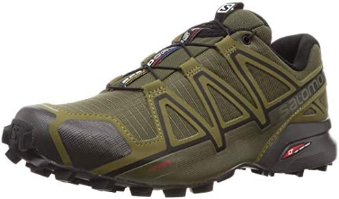 Men's SPEEDCROSS 4 WIDE Athletic Shoe, grape leaf/burnt olive/black, 12 Wide US
