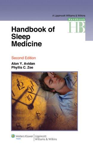 Handbook of Sleep Medicine (Lippincott Williams & Wilkins Handbook Series)