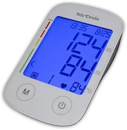 Mx Onda MX-CP2395 - Tensiometro de brazo con locucion e voz + termometro digital