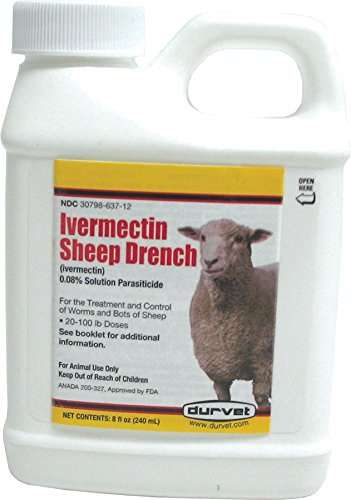 Ivermectin Sheep Drench 8 oz. (Packaging May Vary) by Durvet