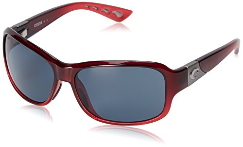 Costa del Mar Inlet Sunglasses Pomegranate Fade/Gray - Where Is Mar Costa Del
