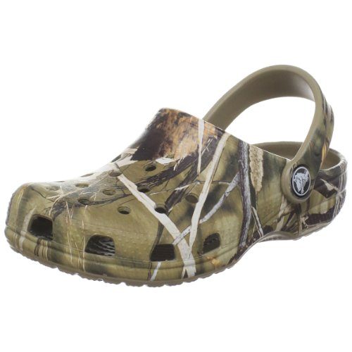Crocs Classic Realtree V2 ,Realtree Khaki,1 M US Little Kid/