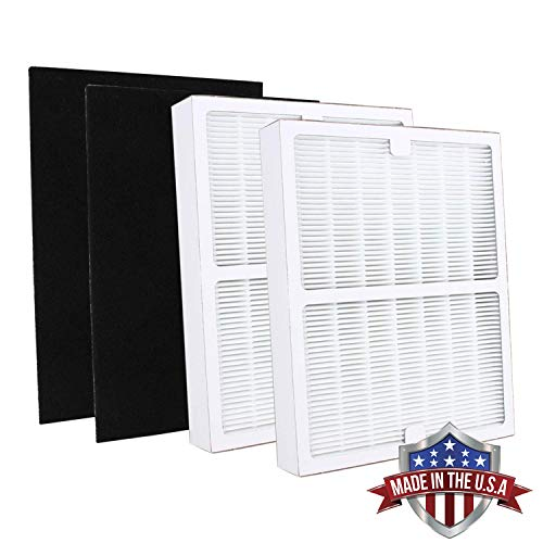 2 Pack IAF H 100A Idylis Air Purifier Filters A for Idylis