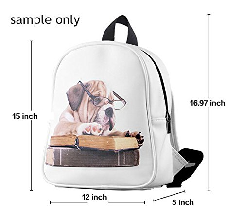 New Design Beatles Custom Backpack Schoolbag (Large) for Students New Character Backpack with Black Color