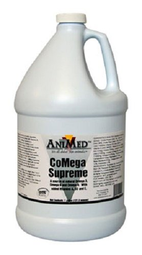 ANIMED 1 Gallon CoMega Supreme Natural Omega-3 With Added Vitamins A, D3, And E