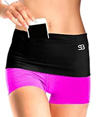 No Pockets? No problem!The ultimate hands-free solution to stashing your stuff! StashBandz with multiple different uses, is the only cute fanny pack, insulin pump belt, jogging or running belt, waist pack, money belt, and travel belt, passpor...