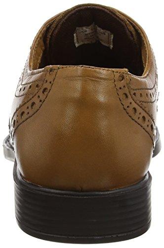 Red Tape Maglin - Zapatos de vestir Hombre Marrón (Tan)