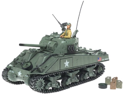 None 1:32 Scale Die-Cast Forces of Valor M4 A3 Sherman Tank Military Vehicle