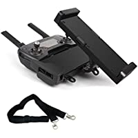 Philonext DJI Mavic Pro Spark Tablet Holder Phone Bracket Mount Extender Accessories with Neck Lanyard Strap, Support 4.7-12.9 Inch, Free Disassembly, 360 Degree Rotation