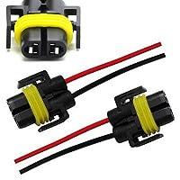 iJDMTOY (2) H11 H8 880 881 Adaptador hembra Arnés de cableado Enchufes Cable para faros o luces antiniebla