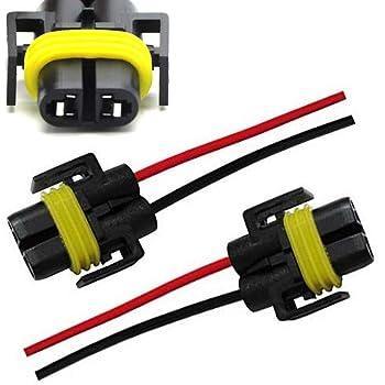 amazon com ijdmtoy 2 900 series 9005 9006 female adapter wiring rh amazon com