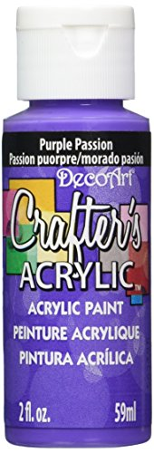 DecoArt Crafters Acrylic 2 Ounce Passion