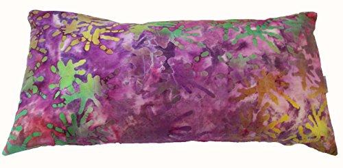 Neck Lumbar Bolster Support Pillow Organic Buckwheat Hulls. Adjustable fill. For Sale