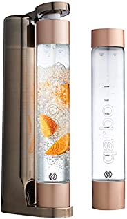 Twenty39 Qarbo - Sparkling Water Maker and Fruit Infuser - Premium Carbonation Machine with Two 1L BPA Free Bo