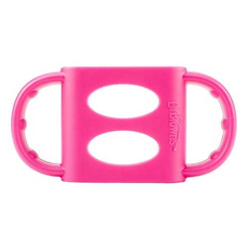 Dr. Brown's 100% Silicone Standard-Neck Baby Bottle Handle, Pink