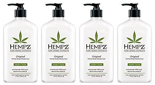 Hempz Lotion Original Herbal Body Moisturizer jetIE, 4Uni...
