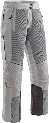 Joe Rocket Cleo Elite - Womens' Textile/Mesh Motorcycle Pant - Silver/Grey - (Womens Elite Motorcycle)