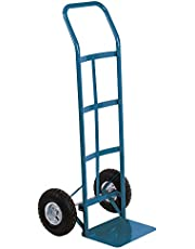 Kleton Pneumatic Wheel Hand Truck, 48-Inch Height, Continuous Handle, 600-lbs Capacity