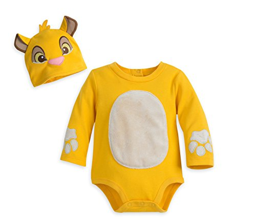 Lion King Dress Up Costumes (Simba Lion King Bodysuit Costume Dress Up Halloween Baby 6 9 Month)